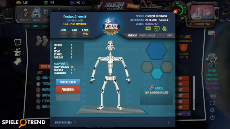 Online Roboter spielen