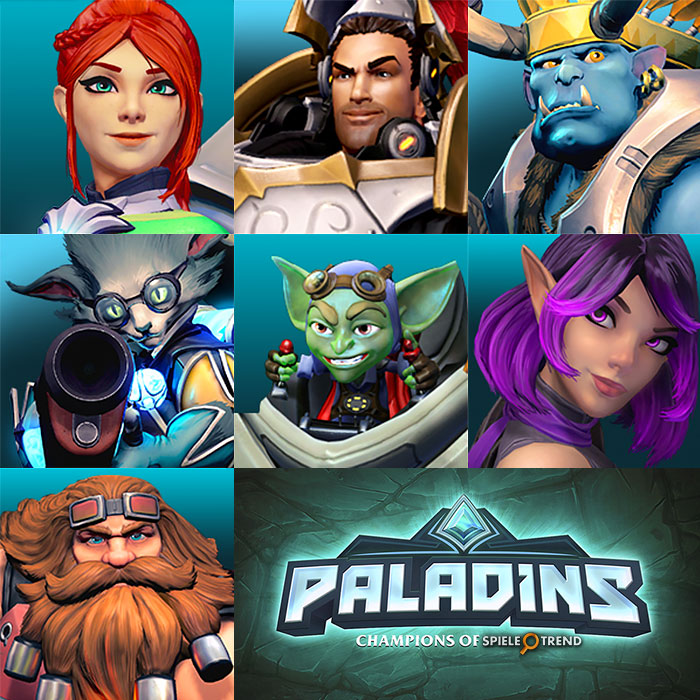 Paladins: Champions of the Realm (Helden)