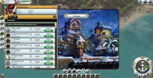 Das Auktionshaus im Hafen von Pirate Storm