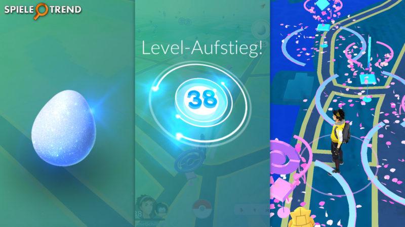 Pokémon GO schnell Leveln (Glücks Ei)