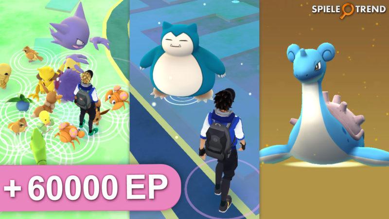 Pokémon GO EP-Event & seltene Pokémon
