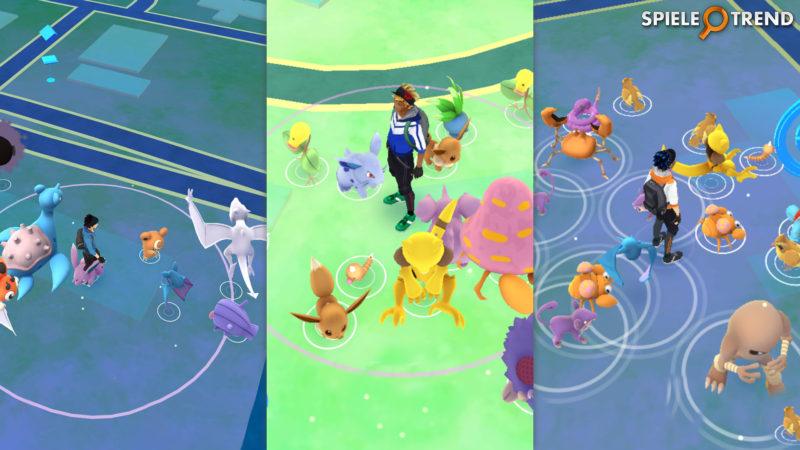 Gute Nester in Pokémon GO finden