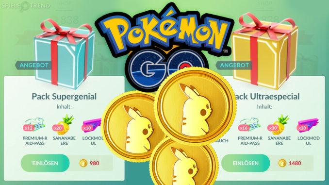 Angebote in Pokémon GO