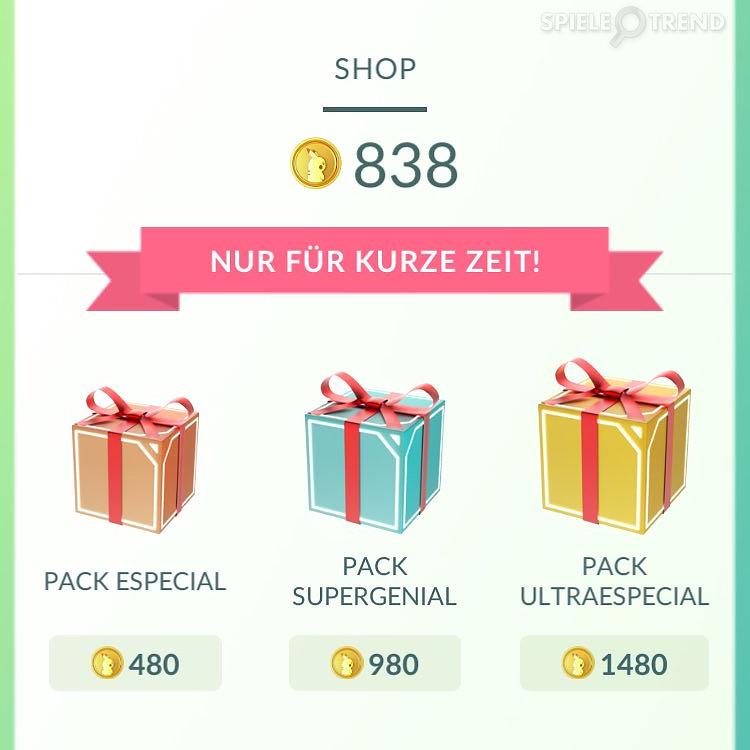 Neue Angebote im Shop