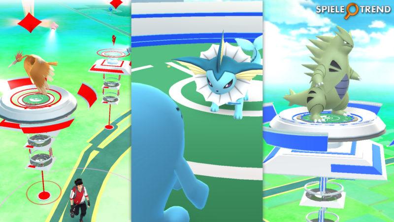 Woingenau gegen Aquana im Gym