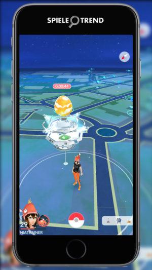 Ei im Pokémon GO Raid