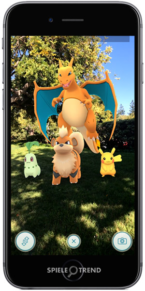 Pokémon GO ARKit Fukano, Endivie