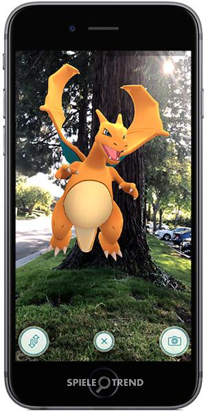 AR Pokémon Glurak