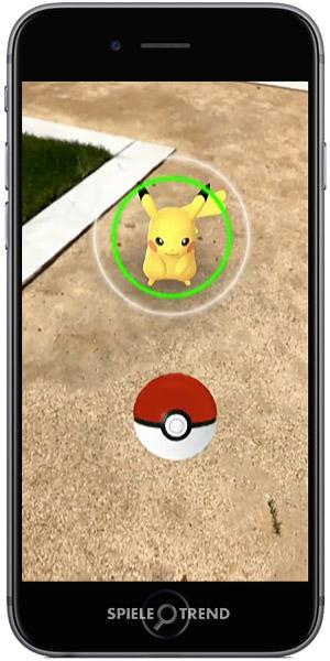 Pikachu mit ARKit fangen
