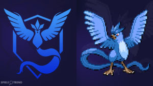 Pokémon GO Aktos (Team Mystic)