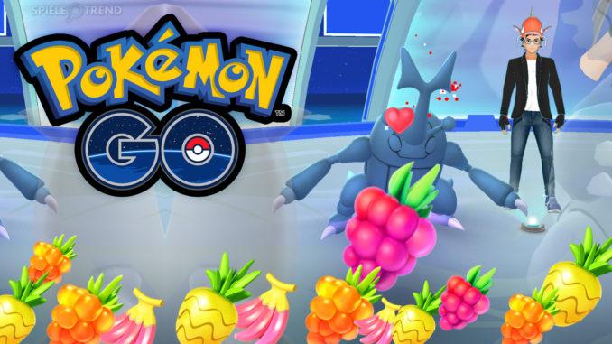 Pokémon GO Beeren Arena Update