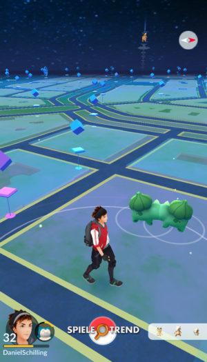 Bisasam-Liebe in Pokémon GO