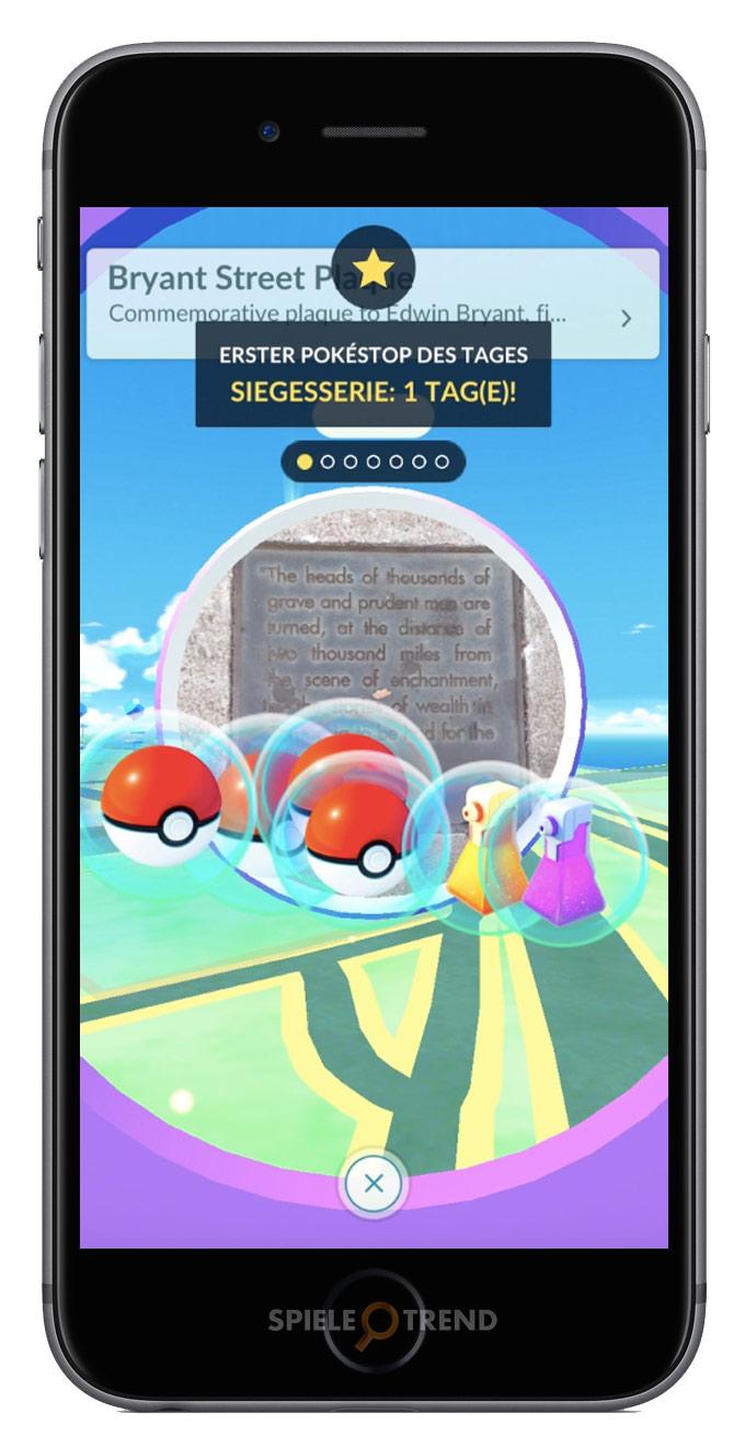 Pokémon GO Täglicher Bonus