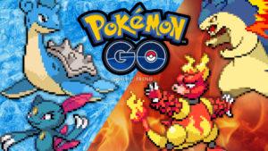 Pokémon GO Eis & Feuer