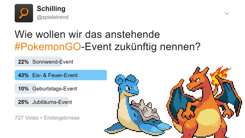 Pokémon GO Eis- & Feuer-Events