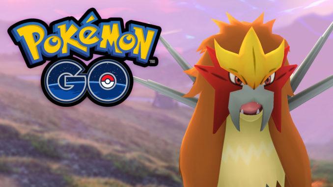 Entei Release in Pokémon GO