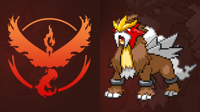 Gen 2 Legendary Entei (Valor)