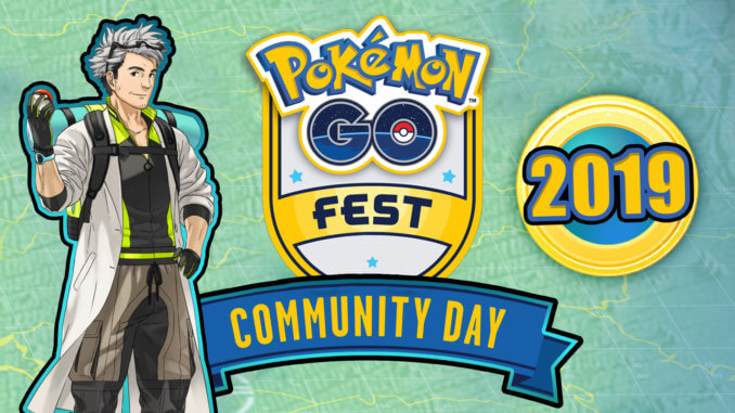 Pokémon GO Events 2019