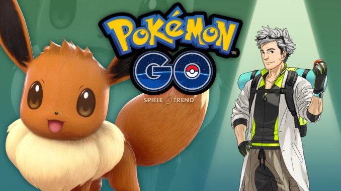 Pokémon GO Evoli & Professor Willow