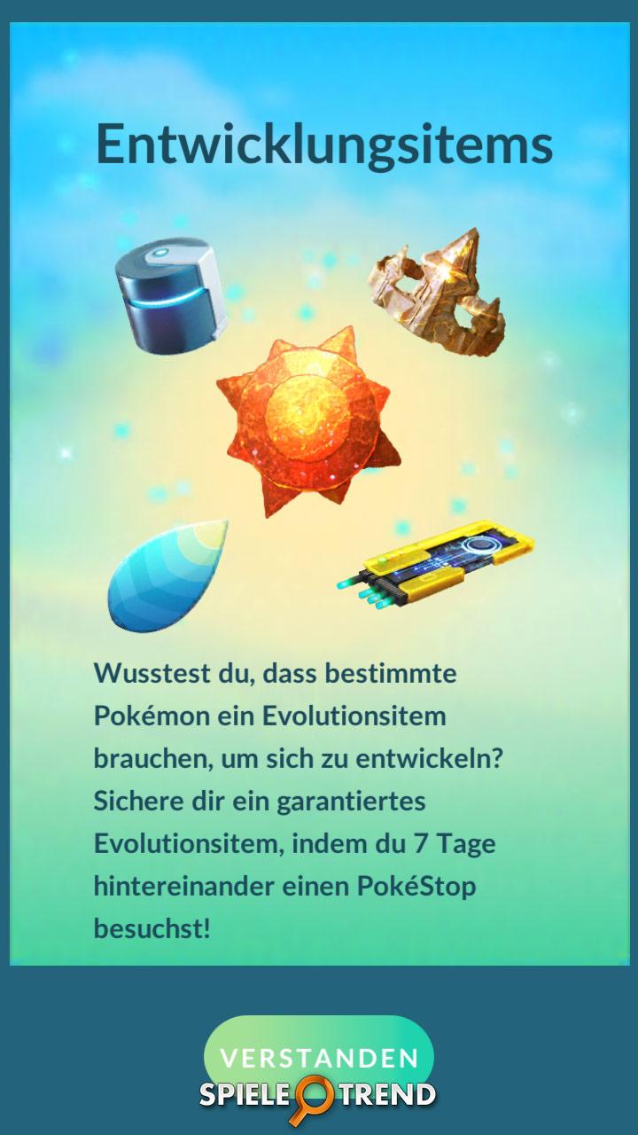 Pokémon GO Entwicklungsitems