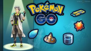 Pokémon GO Evolutions Items