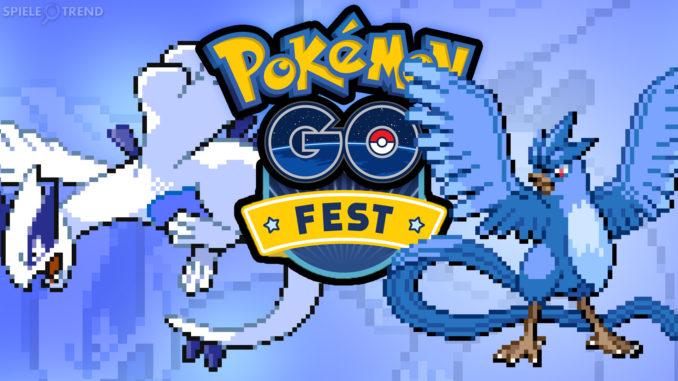 Pokémon GO Fest mit Lugia und Arktos