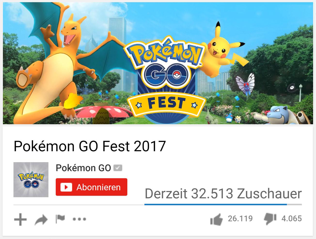 Pokémon GO Fest: Die ultimative Zusammenfassung – Spieletrend