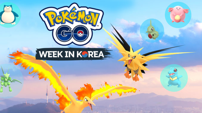 Pokémon GO Festa Event in Korea