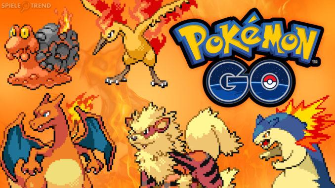 Pokémon GO Feuer Guide (Tipps & Tricks)