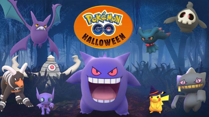 Geister zu Halloween 2017 in Pokémon GO