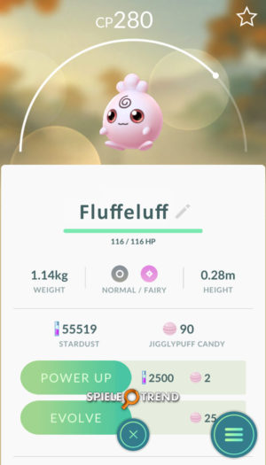 Pokémon GO Fluffeluff Gen 2