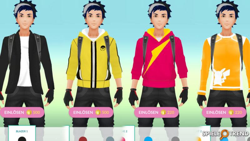 Pokémon GO Gen2 Avatar Anpassungen