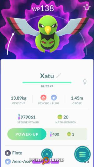 Neue Generation 2 Pokémon: Xatu