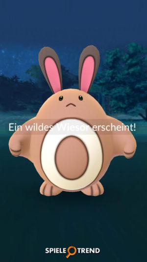 Pokémon GO Generation 2 Wiesor