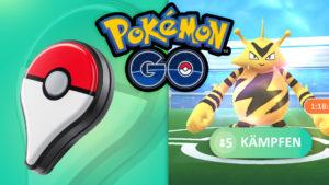 Pokémon GO Plus & Elektek