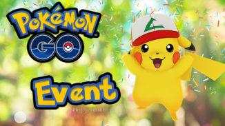 Pikachu mit Ash Mütze