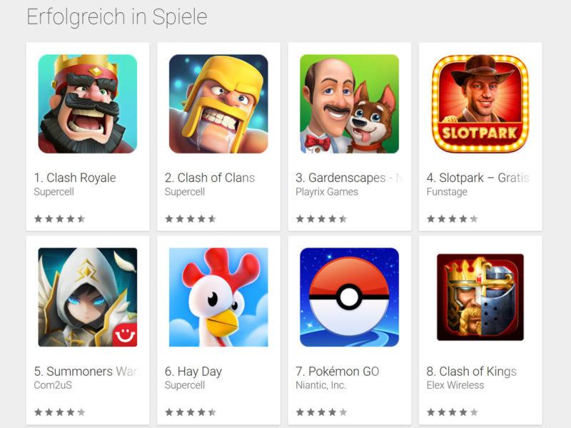 Pokémon GO App Charts