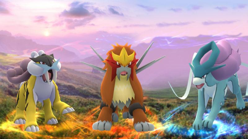 Pokémon GO: Legendäre Raubkatzen