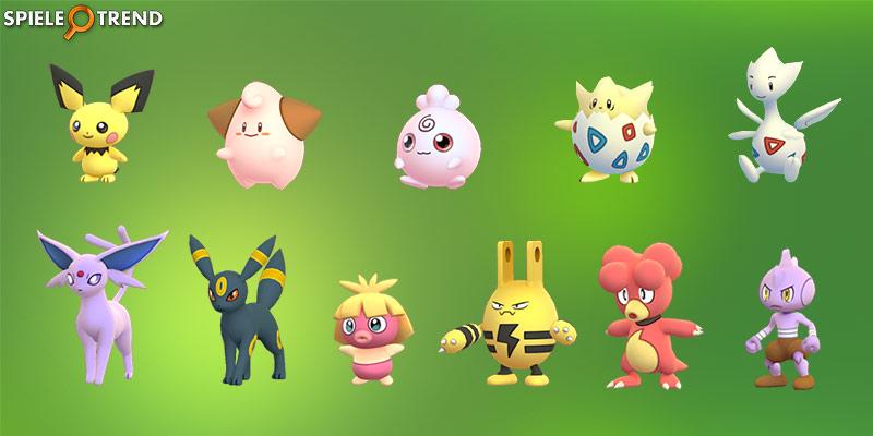 Pokémon GO Nachtara, Psiana und Rabauz (Gen 2)