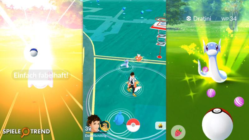 Pokémon GO Dratini im Osterevent