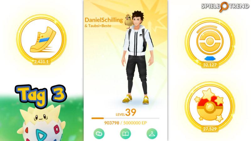 Pokémon GO Oster-Event Ei Festival Tag 3