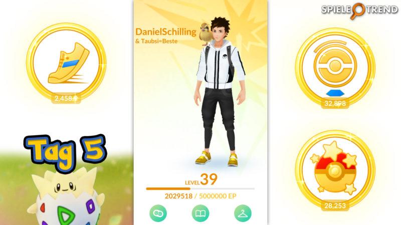Pokémon GO Oster-Event Ei Festival Tag 5