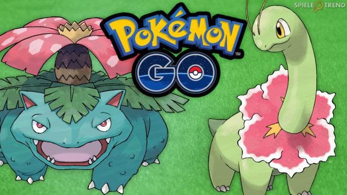 Pokémon GO Pflanzen Event