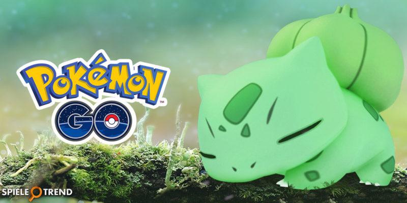Pflanzen Wochenende in Pokémon GO gestartet