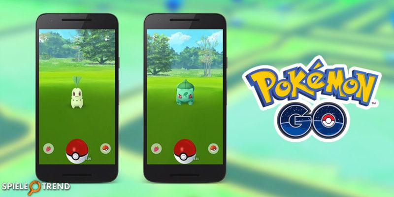 Mehr Bisasam und Endivie in Pokémon GO