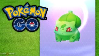 Shiny Pflanzen-Pokémon beim Event