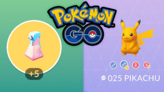 Shiny-Pikchu und Raid-Potions in Pokémon GO