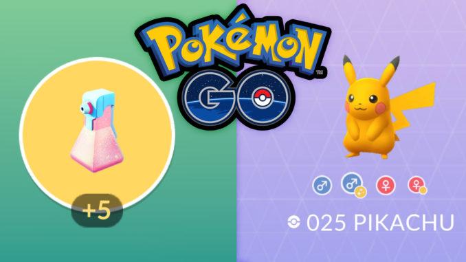 Shiny-Pikchu und Raid-Potions in Pokémon GO