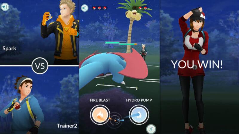 Pokémon GO Duell