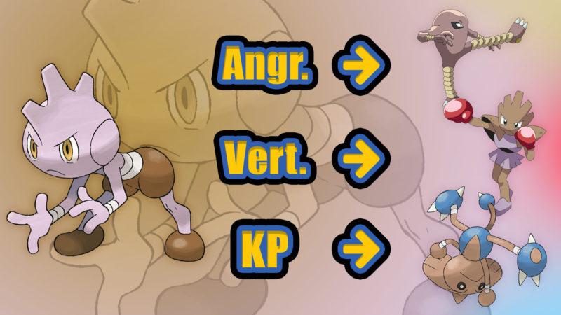Pokémon GO Rabauz Kapoera Entwicklung